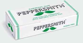 Жвачка Москва Peppersmith Real English Peppermint