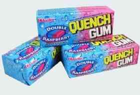 Рынок Quench Gum Double Raspberry (Утоляющая жвачка Двойная малина)