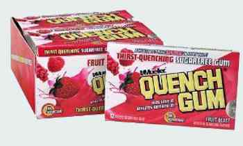 Quench Gum Fruit Blast  (Утоляющая жвачка Фруктовый взрыв)