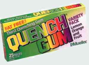 Умственная жвачка Quench Gum Variety Pack (Утоляющая жвачка упаковка микс)