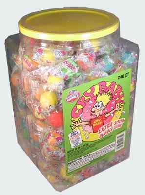 Sour Cry Baby Bubble Gum