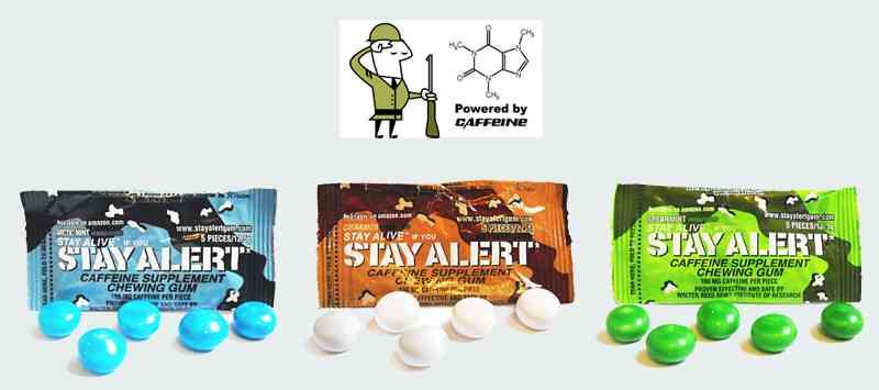 Кофейная жвачка  Stay Alert Gum (Стей Алерт)