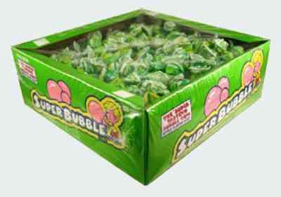 Super Bubble Gum Sour Apple