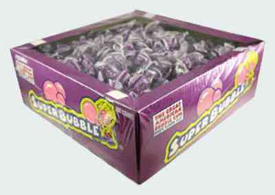 bubble gum Super Bubble Grape
