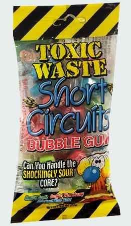 Жвачка Toxic Waste Bubble Gum (Бабл гам токсичные отходы)