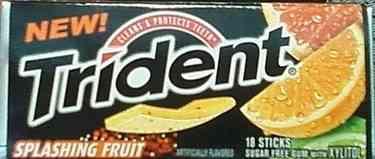 Trident Splashing Fruit (Тридент фруктовый взрыв)