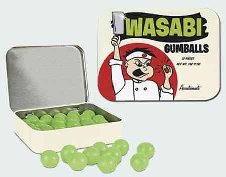 Сайт жвачки Wasabi Gumballs (Жвачка-шарик Васаби)