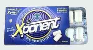Xponent Peppermint Gum (Икспонент перечная мята)