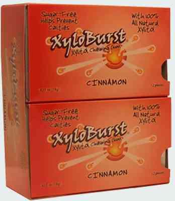 Новая  Xyloburst  Xylitol Gum Cinnamon (Ксилиберст с ксилитолом корица)